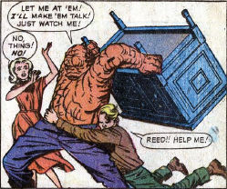 Fantastic Four #2, page 18, panel 2