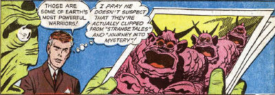 Fantastic Four #2, page 18, panel 1