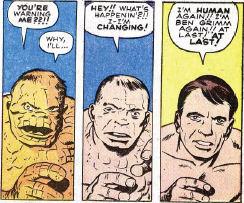 Fantastic Four #5, page 7, panels 2-4