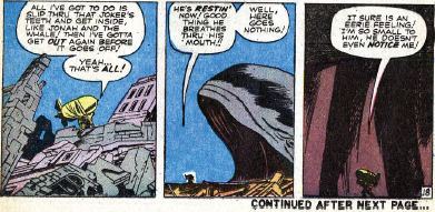 Fantastic Four #4, page 18, panels 5-7