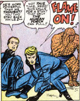 Fantastic Four #4, page 23, panel 1