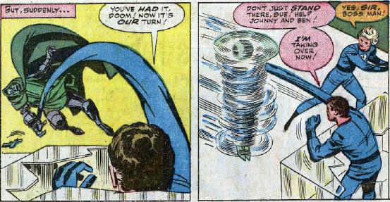 Fantastic Four #23, page 19, panels 1-2