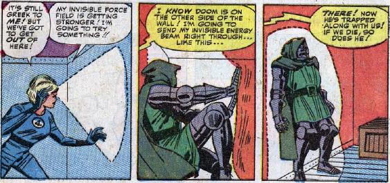 Fantastic Four #23, page 22, panels 5-7