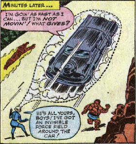 Fantastic Four #24, page 16, panel 1