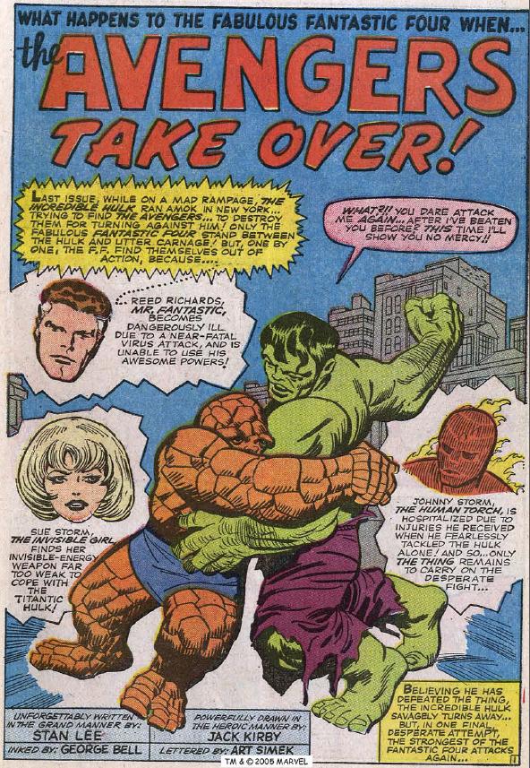 Fantastic Four #26, page 1