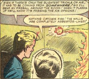 Strange Tales #118, page 9, panel 3