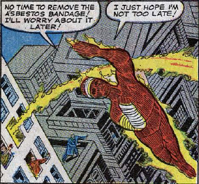 Fantastic Four #26, page 4, panel 4