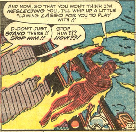 Strange Tales #120, page 12, panel 7