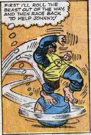 Fantastic Four #28, page 8, panel 2