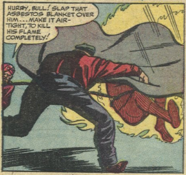 Strange Tales #122, page 6, panel 3