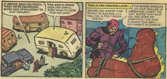 Strange Tales #122, page 7, panels 1-2