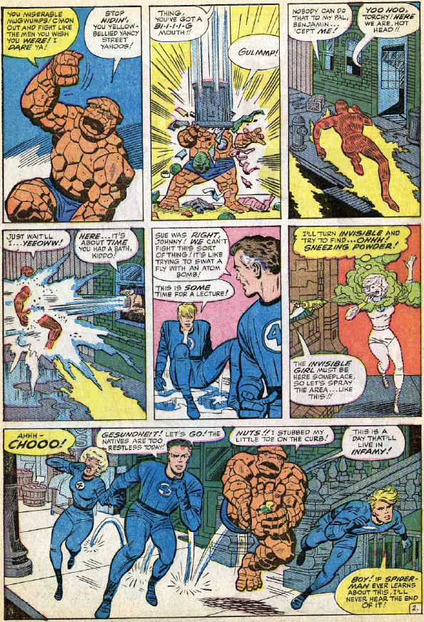 Fantastic Four #29, page 2