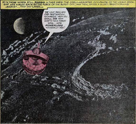 Fantastic Four #29, page 11, panel 3