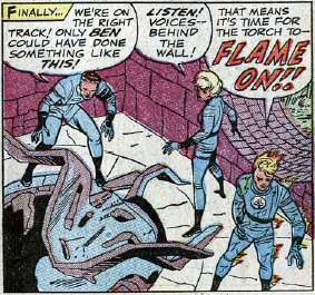 Fantastic Four #30, page 5, panel 5