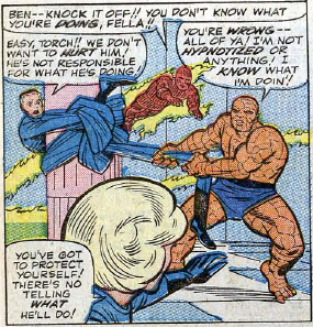 Fantastic Four #30, page 7, panel 1