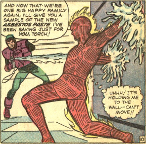 Strange Tales #124, page 10, panel 6
