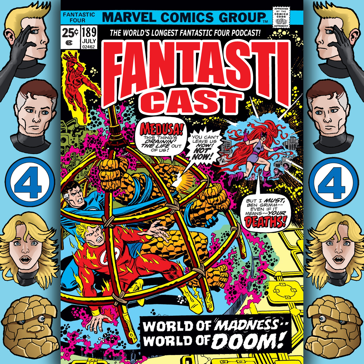The Fantasticast Episode 189