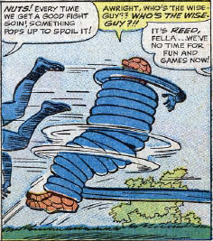 Fantastic Four Annual #2, page 18, panel 2