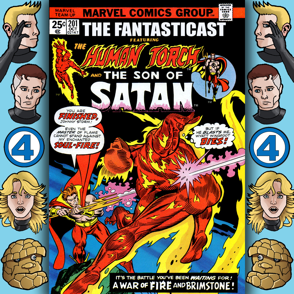 The Fantasticast Episode 201