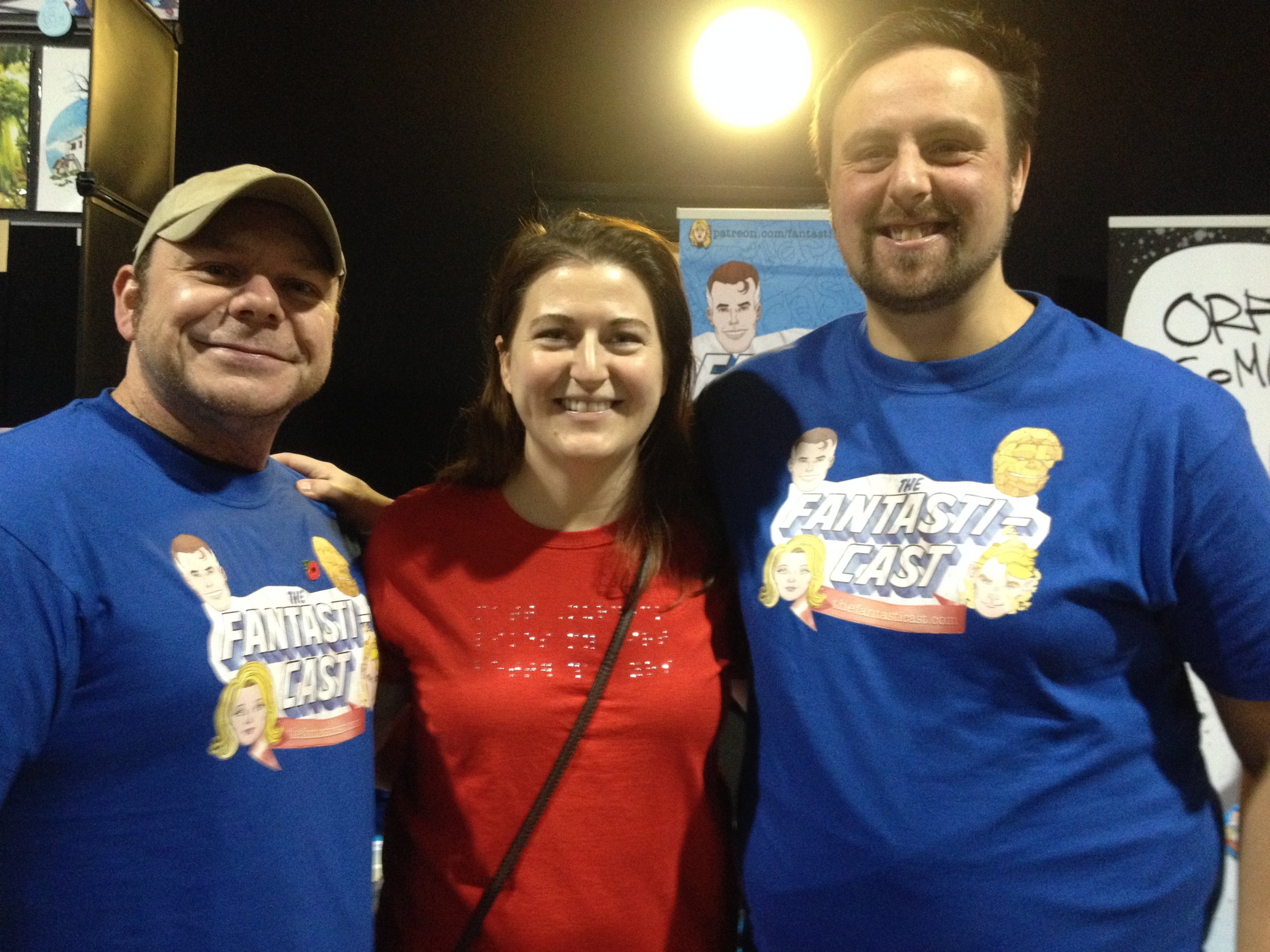 We found a Daredevil blogger! Steve and Andy meet up with our most request guest-host, Christine Hanefalk.