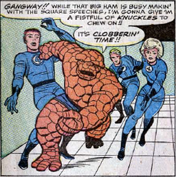 Fantastic Four Annual #2, page 19, panel 4