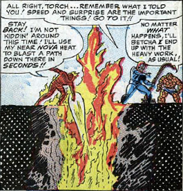 Fantastic Four #31, page 16, panel 2