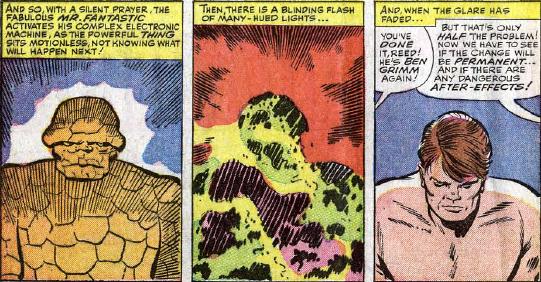 Fantastic Four #32, page 2, panels 1-3