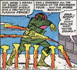 Fantastic Four #32, page 11, panel 6