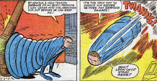 Fantastic Four #31, page 14, panels 1-2