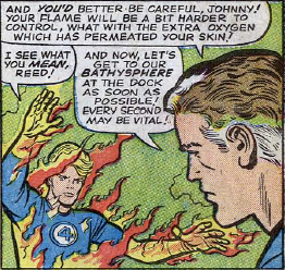 Fantastic Four #33, page 7, panel 4