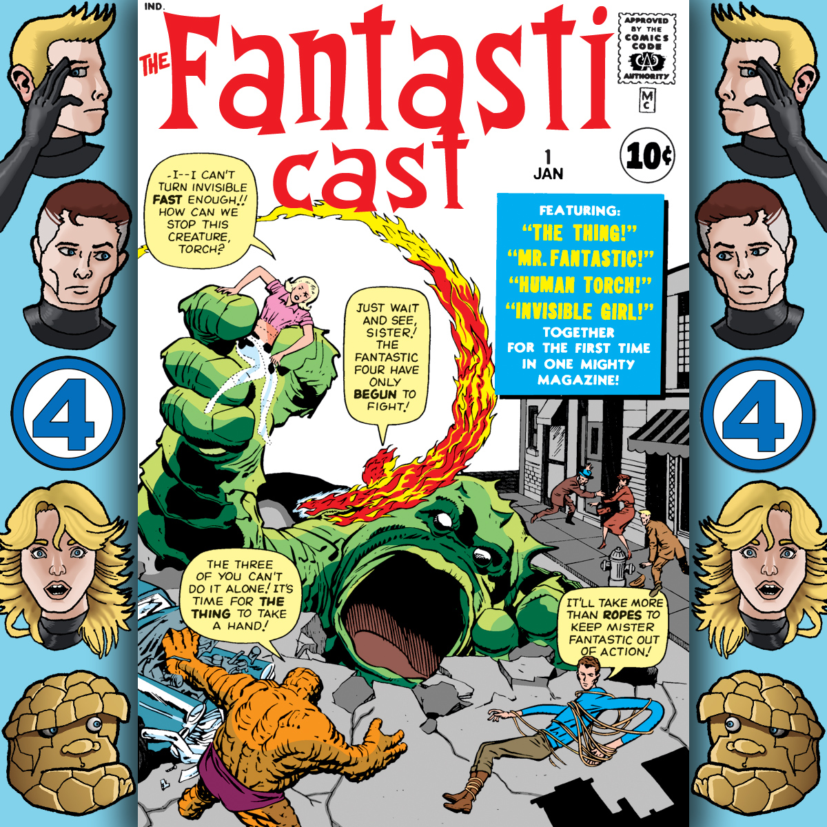 The Fantasticast Episode 1: Special Edition