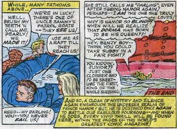 Fantastic Four #33, page 20, panels 7-8
