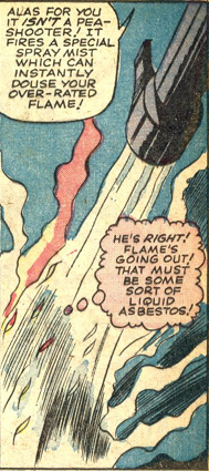 Strange Tales #127, page 9, panel 3