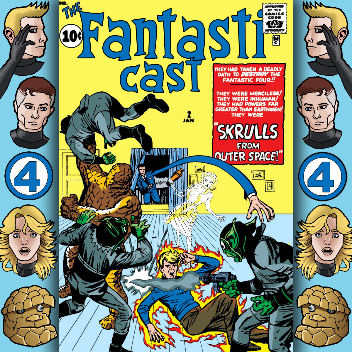 The Fantasticast Episode 2: Special Edition