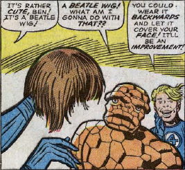 Fantastic Four #34, page 2, panel 2