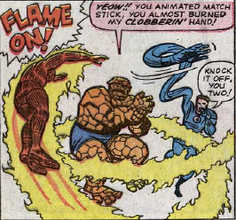 Fantastic Four #43, page 2, panel 4