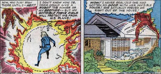 Fantastic Four #34, page 8, panels 5-6