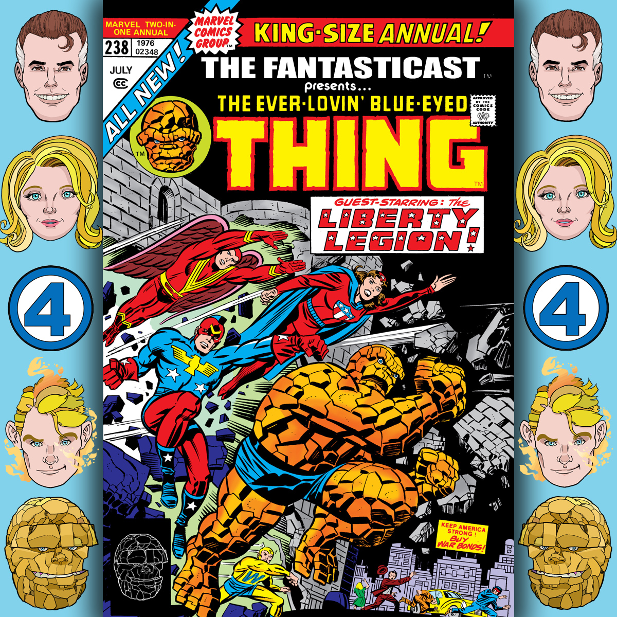 The Fantasticast Episode 238
