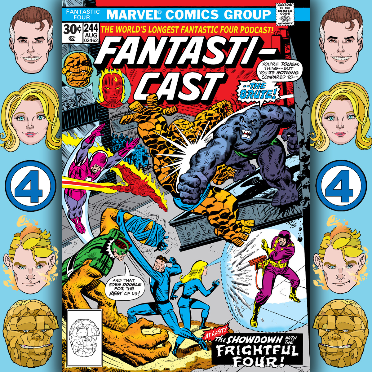 The Fantasticast Episode 244