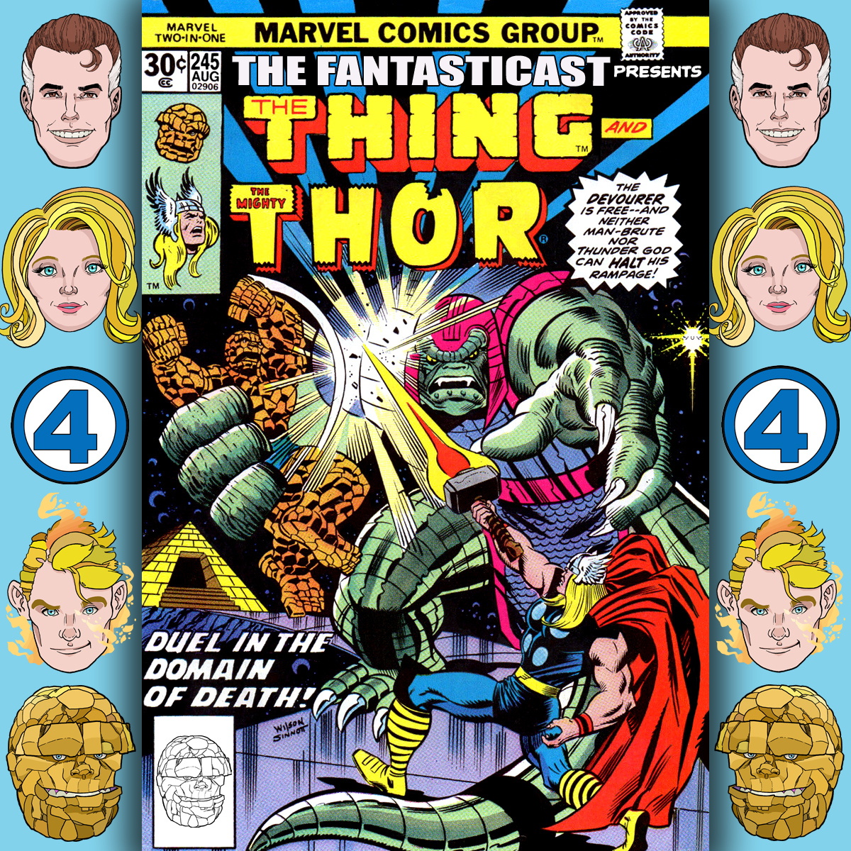 The Fantasticast Episode 245