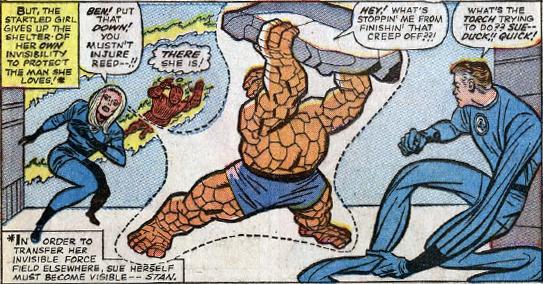 Fantastic Four #34, page 12, panel 1