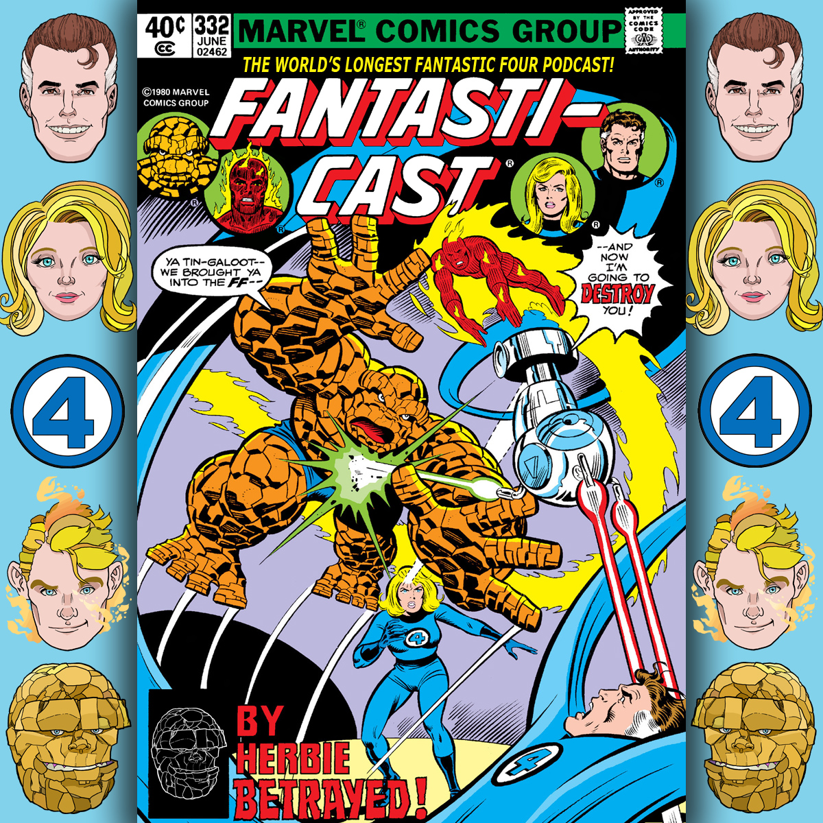 The Fantasticast Episode 332