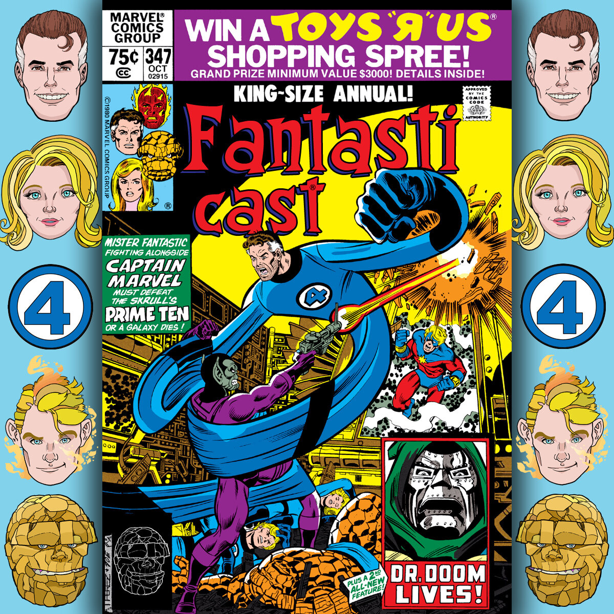 The Fantasticast Episode 347