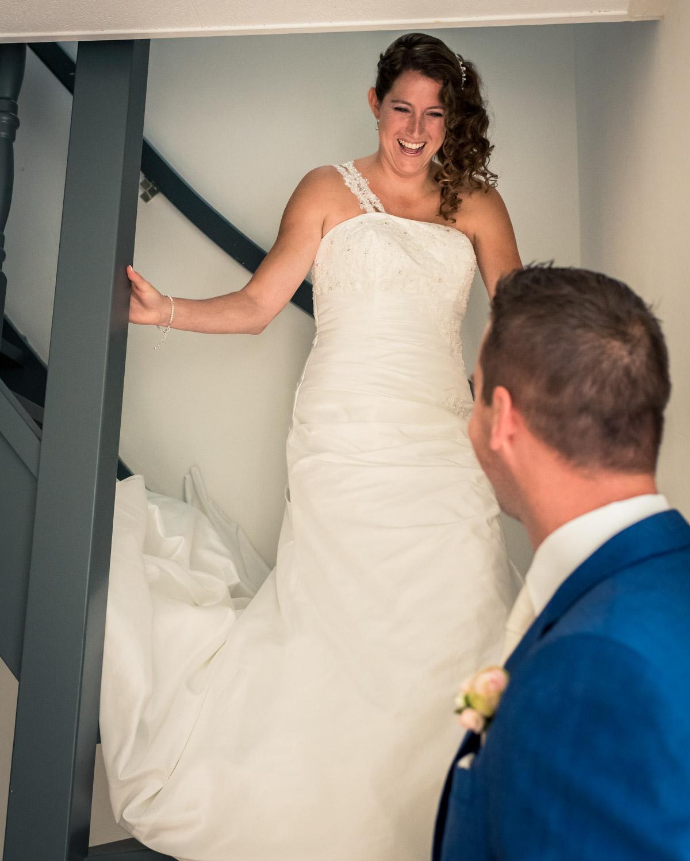 ontmoeting bruidspaar Fijnaart