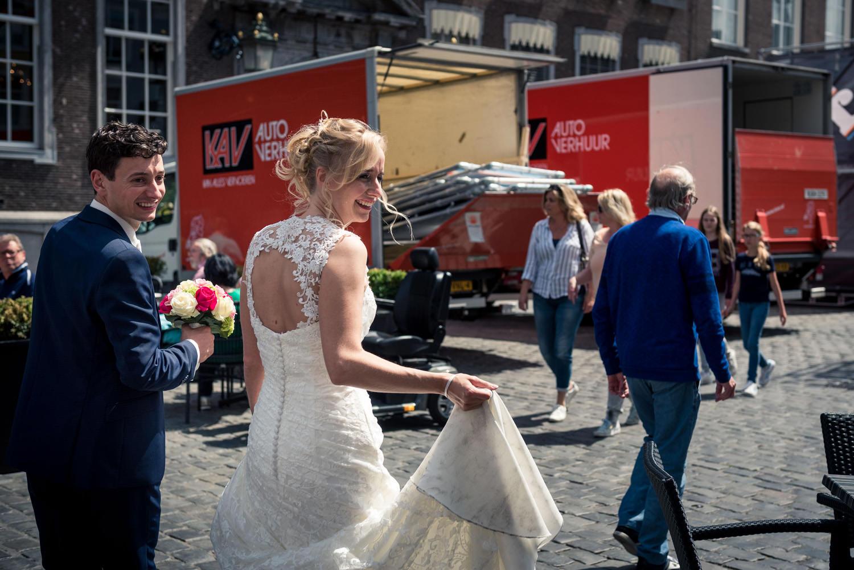 bruidspaar centrum Breda