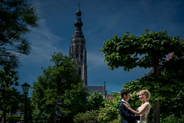 bruidsfotografie Willem Merkxtuin Breda