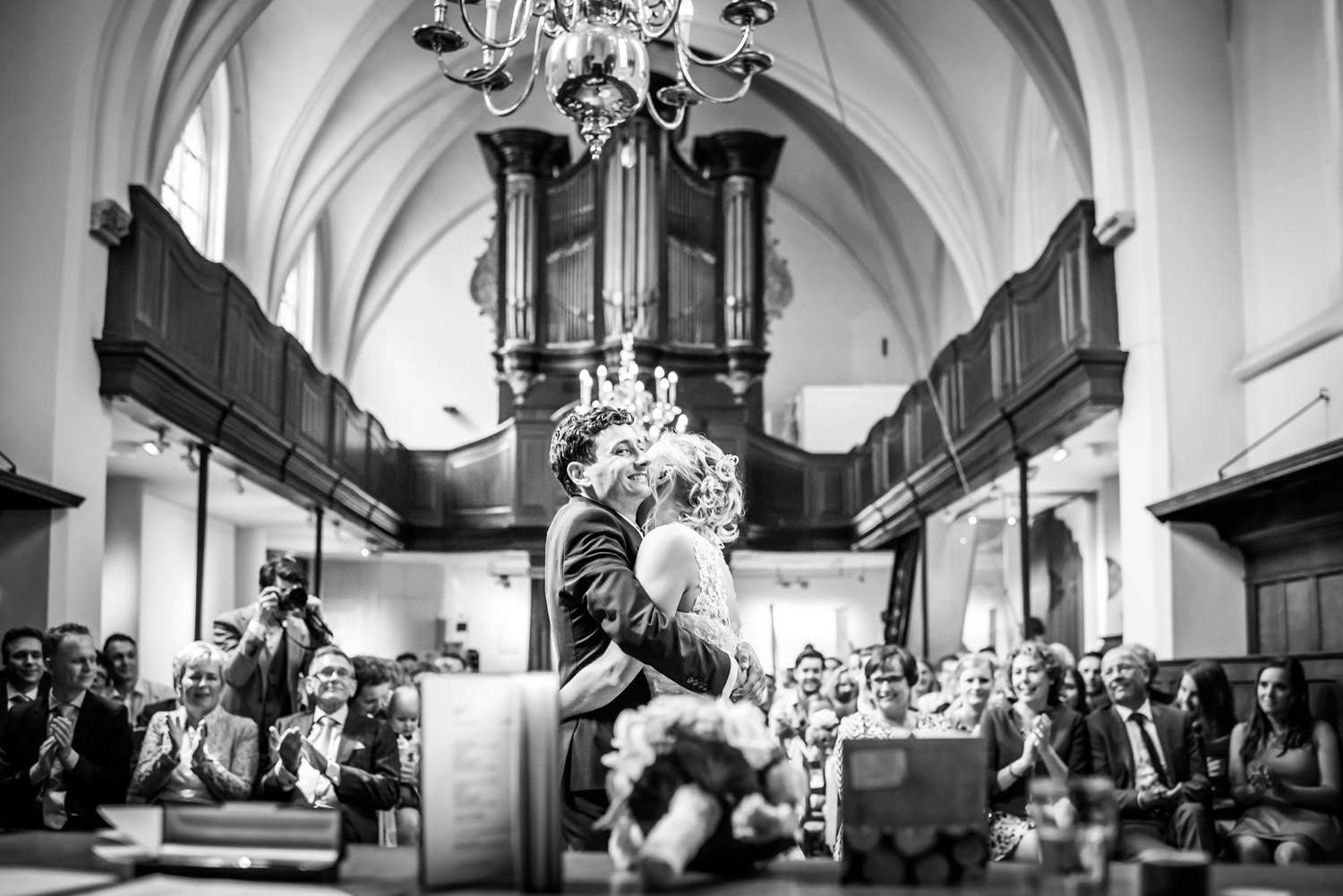 Trouwceremonie Waalse kerk Breda