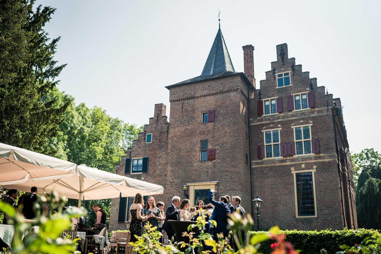 borrel receptie kasteel wijenburg huwelijk
