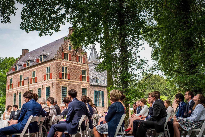 Ceremonie trouwfotografie kasteel wijenburg echteld bruidsfotograaf cfoto