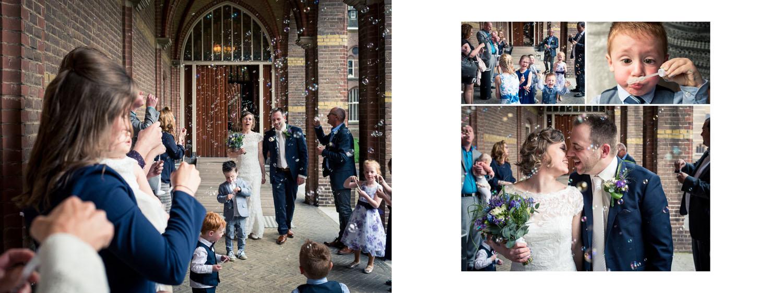 bruidsreportage in jullie trouwalbum, mooi ontwerp, prachtige kaft, rustig design, Cfoto
